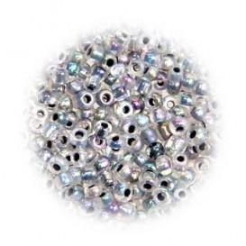 perles de verre tranparent moire 15 gr