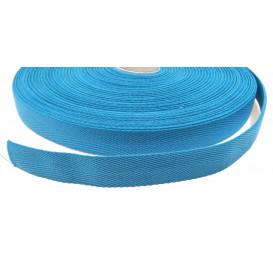 ruban sergé 100% coton 20mm couleur au mètre