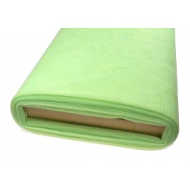 tulle uni vert pâle au mètre