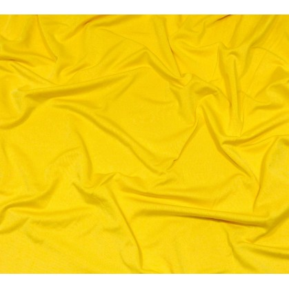 coupon lycra léger jaune banane