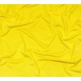 coupon lycra léger jaune soleil