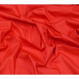 coupon popeline stretch uni rouge
