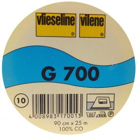 vlieseline G700 Blanc largeur 90cm x 50cm