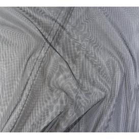 tissu moustiquaire noir largeur 150cm x 50cm