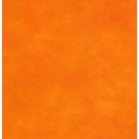 intissé / non tissé orange clair x 50cm