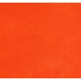 intissé / non tissé orange au mètre