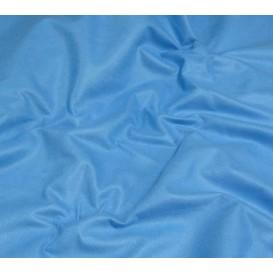 coupon feutrine bleu nattier laize 180cm