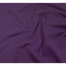 tissu jersey violet foncé largeur 160cm x 50cm