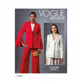 patron veste Vogue V1667