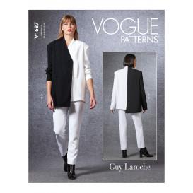 patron veste et pantalon Vogue V1687