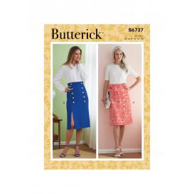 patron jupe Butterick B6737