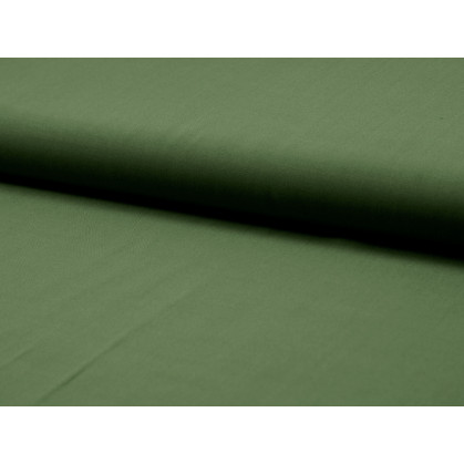tissu viscose uni kaki largeur 140cm x 50cm