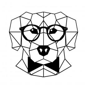 transfert vêtement chien origami thermocollant