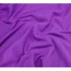 tissu polaire violet largeur 150cm x 50cm