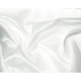 tissu satin blanc largeur 140cm au mètre