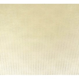 tissu simili cuir diamond stone écru largeur 138cm x 50cm