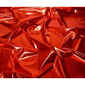 coupon lamé stretch rouge