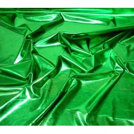 coupon lamé stretch vert