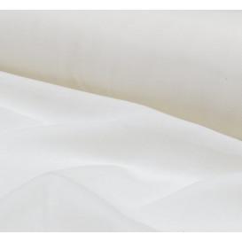 tissu toile à beurre blanc largeur 150cm x 50cm