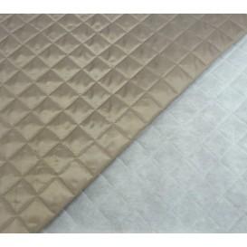 coupon doublure matelassée uni gris laize 150cm