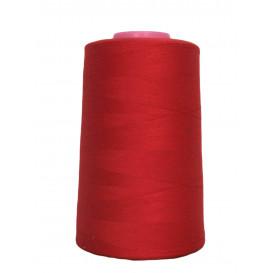cône de fil à surfiler et à coudre rouge 5000yards