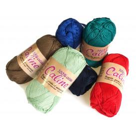 pelote de laine Caline (20 coloris)