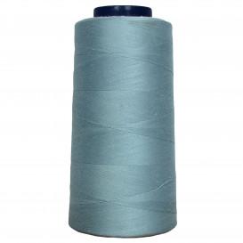 cône de fil à surfiler et à coudre gris clair