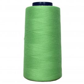 cône de fil à surfiler et à coudre vert anis
