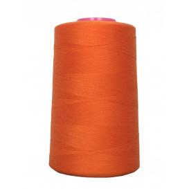 cône fil à coudre et surfilage orange 4573m