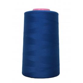 cône fil à coudre et surfilage bleu roi 4573m