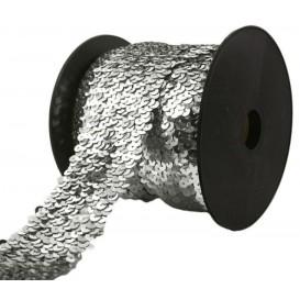coupon 3m galon à paillettes élastique 50mm