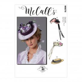patron chapeaux McCall's M8076