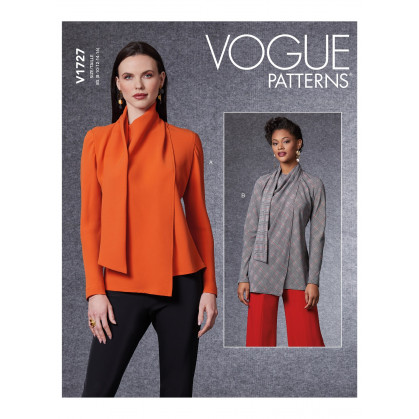 patron chemisier Vogue V1727