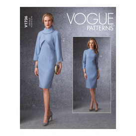 patron veste et robe Vogue V1736