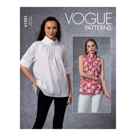 patron haut Vogue V1701
