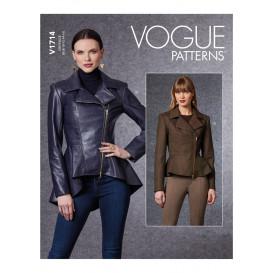 patron veste Vogue V1714