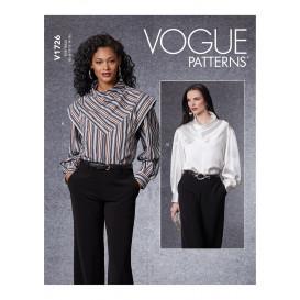 patron haut Vogue V1726