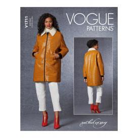 patron veste Vogue V1711