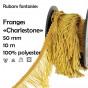 bobine 10m frange charleston droite 50mm