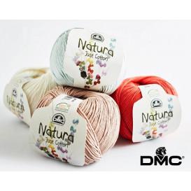 Pelote de laine DMC Natura just cotton (63 coloris)