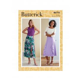patron jupes Butterick B6772