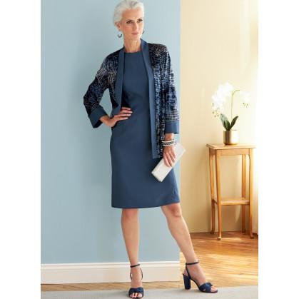 patron veste, robe, haut, jupe Butterick B6796