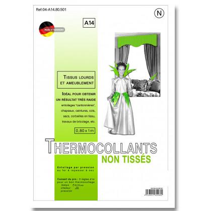 entoilage non tissé thermocollant tissus lourds et ameublement