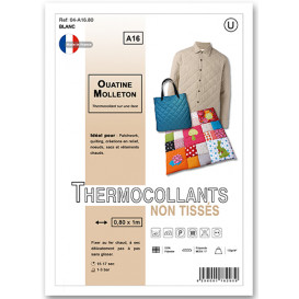 molleton thermocollant ouatine non tissé