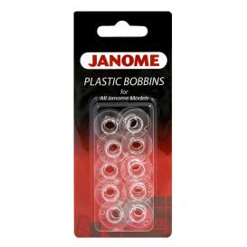 10 canettes plastique Janome