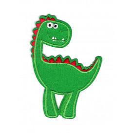 écusson dinosaure thermocollant