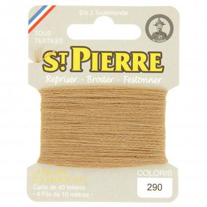 fils à repriser Saint Pierre sable n°290