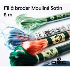 fil à broder DMC mouliné satin