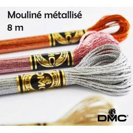 fil à broder DMC mouliné effet lumière