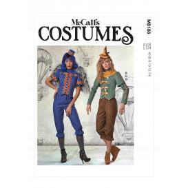patron déguisement femme McCall's M8186